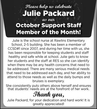 Julie Packerd