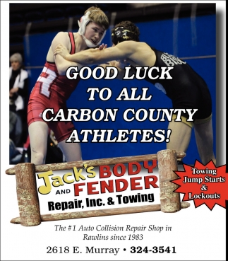 Good Luck to all Carbon County Athletes!