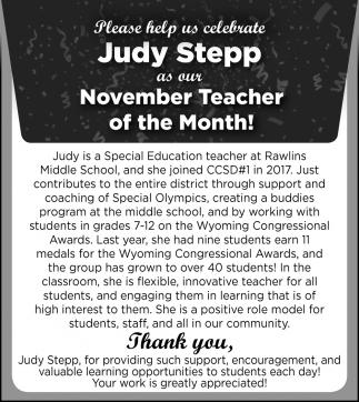 Judy Stepp