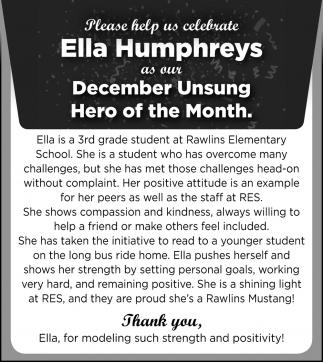 Ella Humphreys