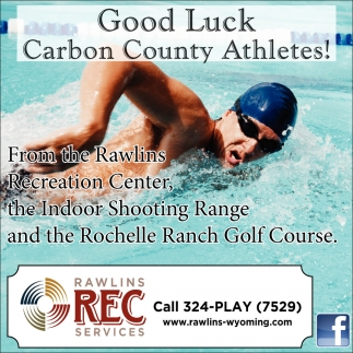 Good Luck Carbon County Athletes!
