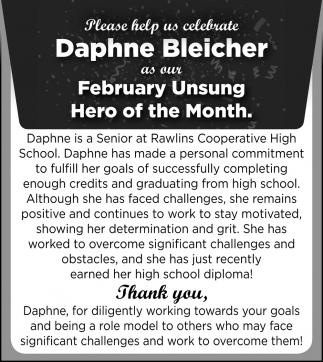 Daphne Bleicher