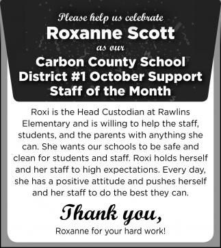 Roxanne Scott