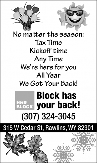 Block Has Your Back!