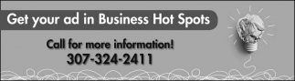 Get Your Ad in Business Hot Spots