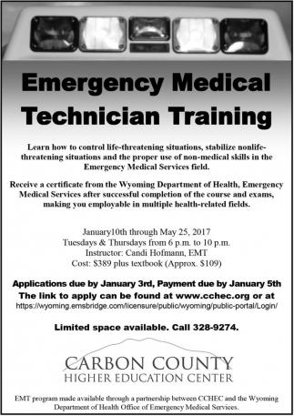 Emergency Medical Technician Training