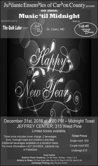 2nd Annual Music 'til Midnight