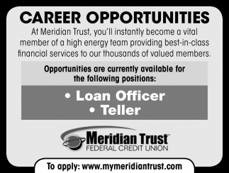 Loan Officer & Teller