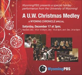 A U.W Christmas Medley
