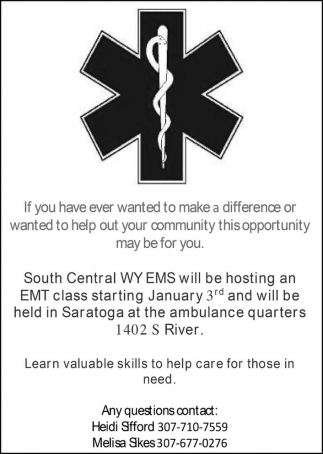 Learn Valuable skills to help care for those in need