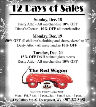 12 Days of Sales