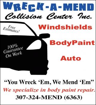 Windshields, BodyPaint, Auto