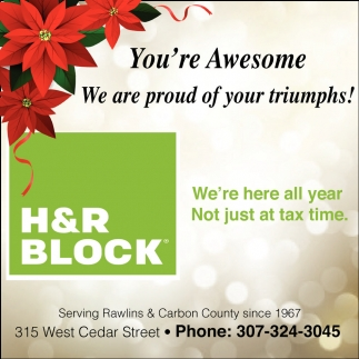 We're here all year. Not just at tax time!