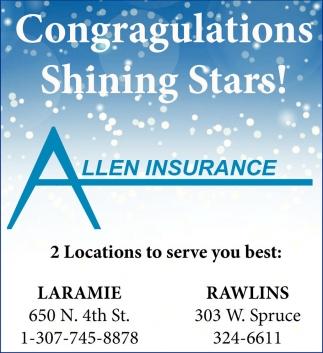 Congratulations Shining Stars!