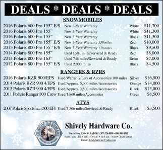 Shively Hardware Co.