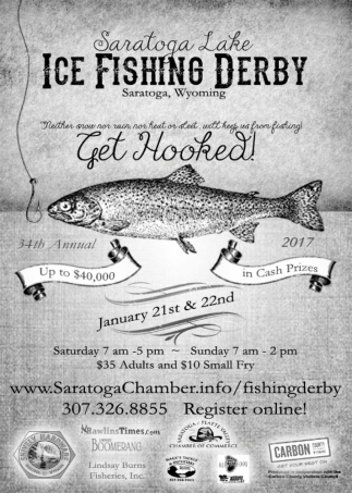 Saratoga Lake Ice Fishing Derby
