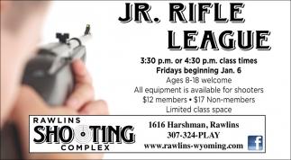 Jr. Rifle League