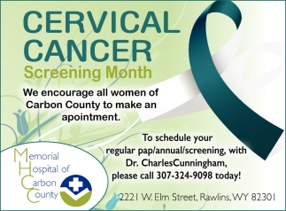 Cervical Cancer screening Month