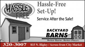 Hassle-Free Set-Up!