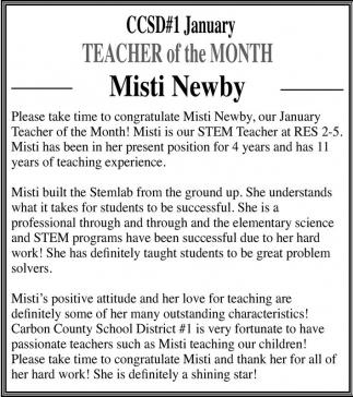 Misti Newby