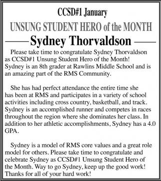 Sydney Thorvaldson