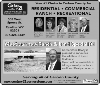 Meet our new Ranch and Land Specialists