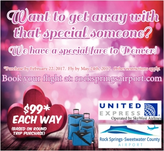 Want to away with that special someone?