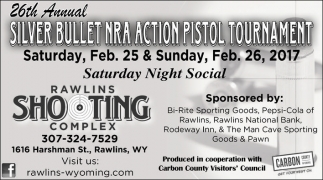 26th Annual Silver Bullet NRA Action Pistol Tournament