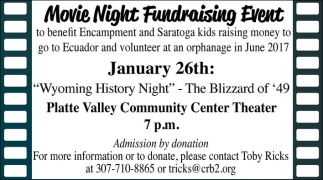 Movie Night Fundraising Event