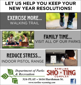 Let us help you keep your new year resolutions!