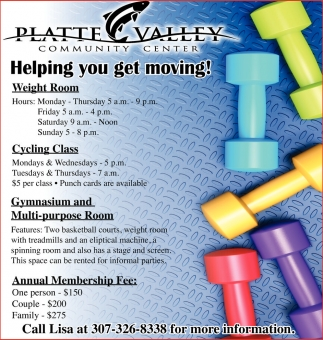 Helping you get moving!