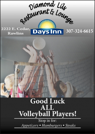 Good Luck all Voleyball Players!