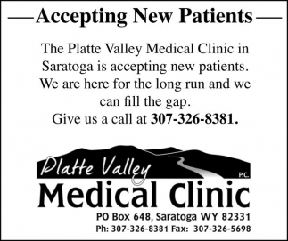 Platte Valley Medical Clinic
