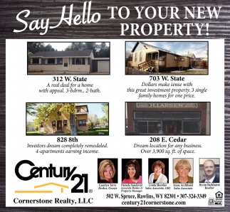 Say Hello To Your New Property