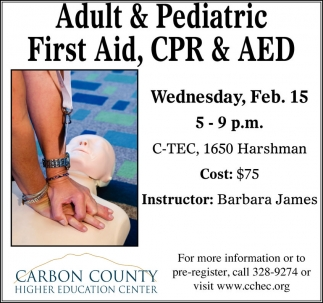 Adult and Pediatric First Aid, CPR, AED