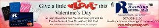 Give a little Love this Valentine's Day