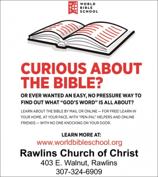 Curious about the Bible?