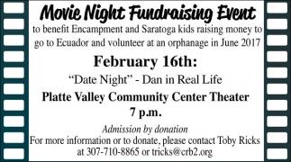 Movie Night Fundraising Event