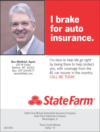 I Brake for Auto Insurance