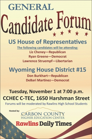 General Candidate Forum
