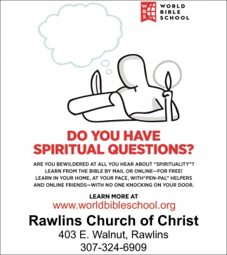 Do you have spiritual questions?