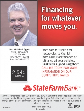 Financing for whatever moves you.