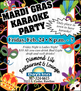 Mardi Gras Karaoke Party