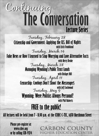 The Conversation Lecture Series