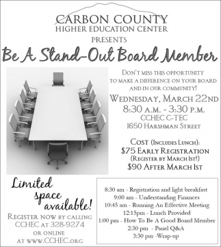 Be a Stand-Out Board Member
