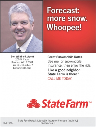 Forecast: more snow. Whoopee!
