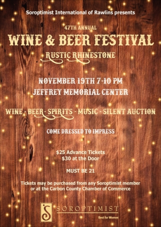 47th Annual Wine and Beer Festival
