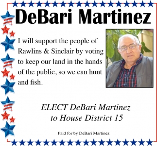 Elect Him to House District 15