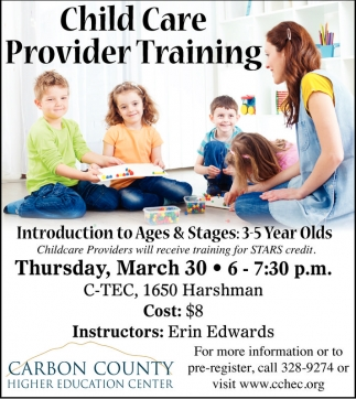 Child Care Provider Training
