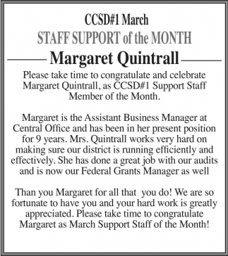 Margaret Quintrall